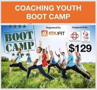Workshop: Coaching Youth Boot Camp
