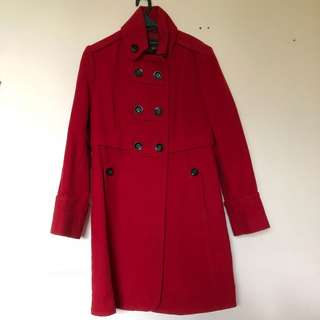 MNG Red Winter Jacket