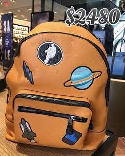 Coach Men's Tangerine Backpack 男裝橙色背包背囊