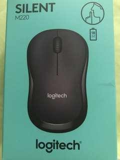 Logitech Wireless Mouse M220 NEW