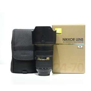 Nikon AF-S NIKKOR 24-70mm F2.8G ED Lens