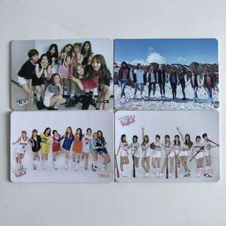 Twice Yes! Card 第18/14期 團體白卡