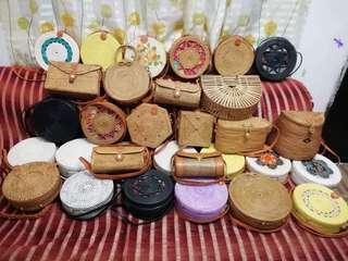 Bali Rattan Bags