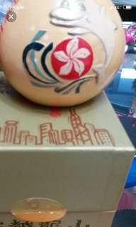 古越龍山紹興花雕酒150ml with box,慶祝1997香港回歸紀念特別限量版,只有黃色,每盒
