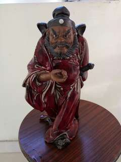 紅釉 佛像