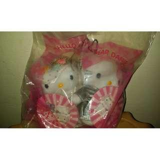 Hello Kitty Dear Daniel Wedding Set collectible
