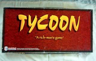 Tycoon: A Rich Man's Game