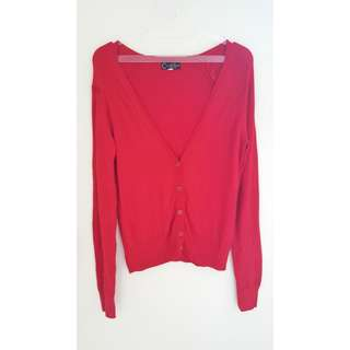 NEW LOOK RED CARDIGAN