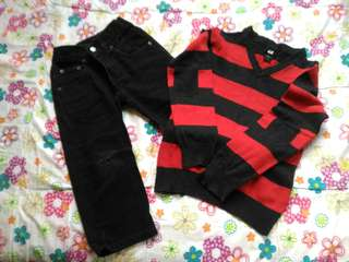 Set clothes 4-5 yo