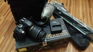 Nikon D5200 complete with box