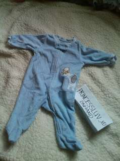 Newborn baby frogsuit by Carter's