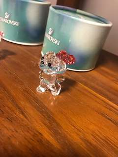 Swarovski 5063324 Kris Bear-say It with Roses Collectible