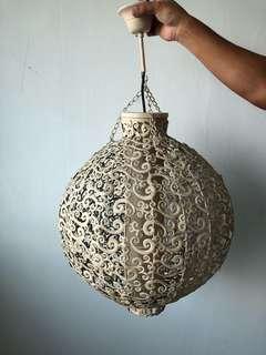 Handcrafted full metal vintage hanging pendant Lamp