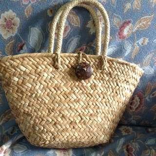 Triangle Abacca Bag