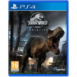 [NEW NOT USED] PS4 Jurassic World Evolution Sony PlayStation Strategy Games