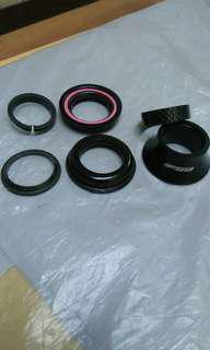 FSA HEADSET W/10MM Carbon Spacer
