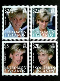 1997 Solomon islands unused set