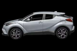 Toyota CHR 1.8G for Rent