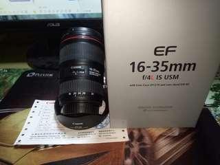 Canon 16-35/4公司貨