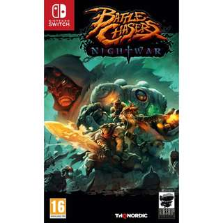[NEW NOT USED] SWITCH Battle Chasers: Nightwar Nintendo THQ Nordic RPG Games