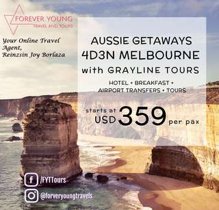 4D3N Melbourne Package with Grayline Tours