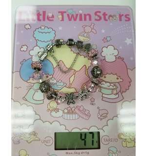 Silver Charms Bracelet 2 - CLEARANCE SALE | 80% OFF