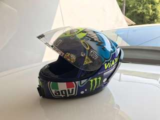Helm AGV K3 Rossi Shark Via via via Second