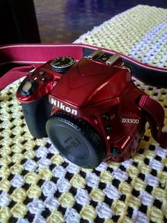 Red Nikon D3300