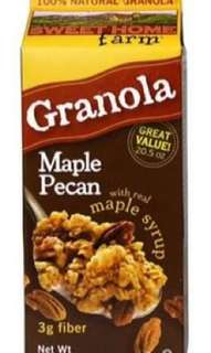 Granola Mapple Pecan Import