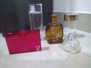 Designer perfume empty bottle