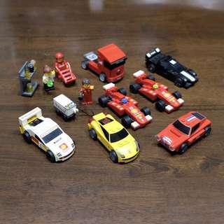 Lego Ferrari Shell promo set