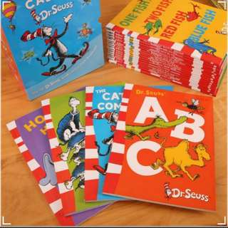 Dr Seuss 20 Books Set with FREE Tote bag