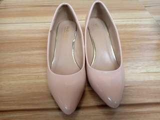 Preloved Nude Parisian Wedge sandals