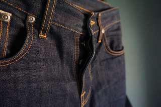 Nudie Dry Selvage Grim Tim