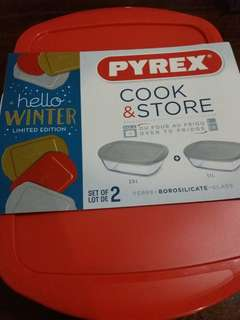 Pyrex Cook and Store