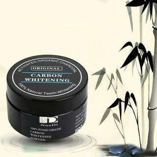 NEW- actived charcoal teeth whitening powder