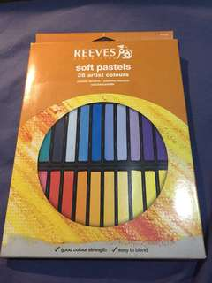 Reeves Soft Pastel 36 warna chalk pastel