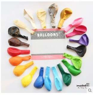 🚚 Balloons 🎈 Latex Happy Birthday Party Baby Shower helium grade balloon
