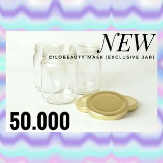 (NEW) cilobeauty mask exclusive jar