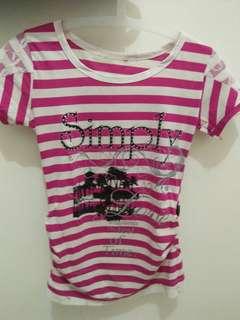 #maudecay Tshirt strip