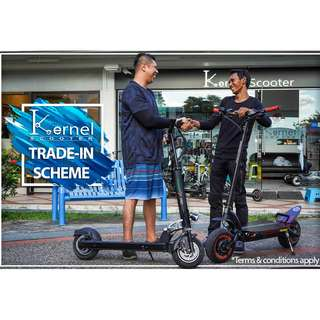 Trade in scooter for cash rebate!