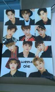 Wanna One A3 Poster 海报