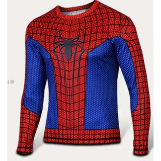 Spiderman Full superhero compression tights long sleeve