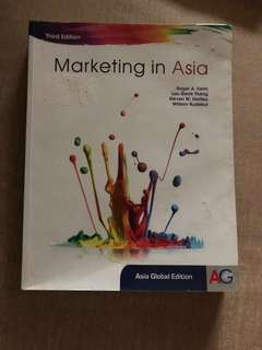 Marketing In Asia (Third edition) Asia Global Edition