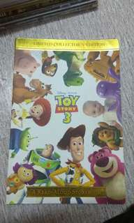 Limited Collector's Edition Toy Story 3 A Read Aloud Storybook