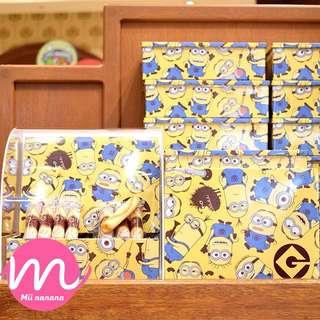 USJ Minion 新款曲奇卷餅小食盒
