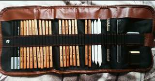 Roll-Up Pencil Case