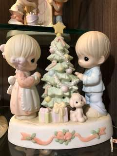 Preloved! Precious Moments - Sharing our Christmas Together
