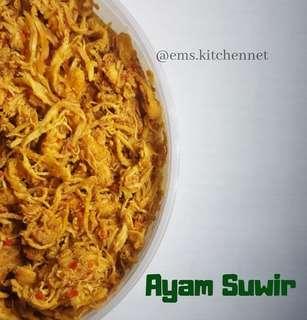Ayam suwir by ems kitchennet