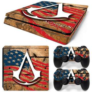 Assassin's Creed Body Skin Sticker For PS4